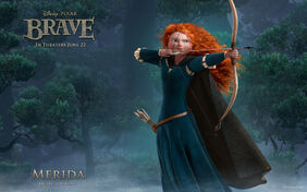 Brave-Merida-Wallpaper