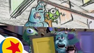 The Door Chase from Monsters, Inc. Pixar Side by Side