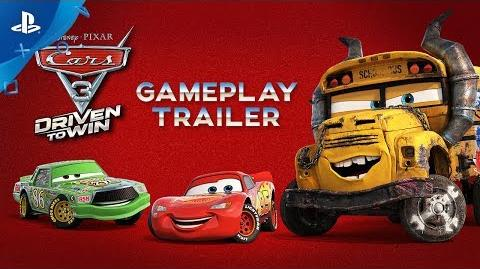 Cars 3 Driven to Win - Gameplay Trailer PS4, PS3