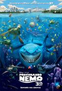 Procurando Nemo 3D Pôster Nacional
