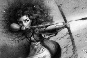 Zeichnung Merida