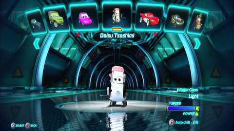 Cars 2 Video Game All Characters and DLC