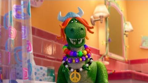 Disney Pixar 'Partysaurus Rex' Sneak Peek Clip