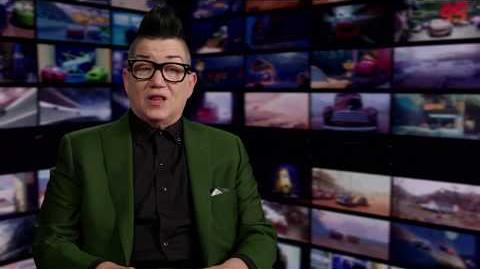 "Cars 3 ""Miss Fritter"" Lea DeLaria Interview"