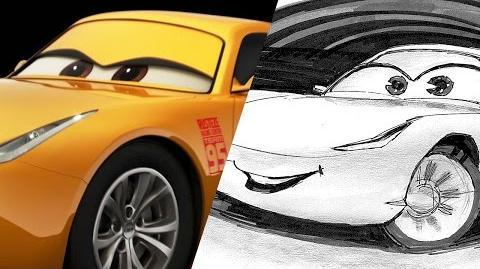 How to Draw Cruz Ramirez from Cars 3 Pixar LIVE