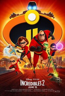 Incredibles 2 poster -0