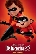 Incredibles 2 Spanish Poster 12