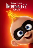 Incredibles 2 Original Character Posters 05