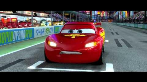 Cars 2 Japan Race - Clip