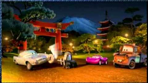 Cars 2 Spy School Tokyo