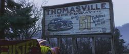 Thomasville Speedway Sign