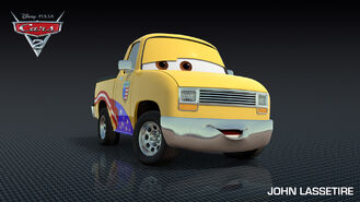 John Lassetire Cars 2