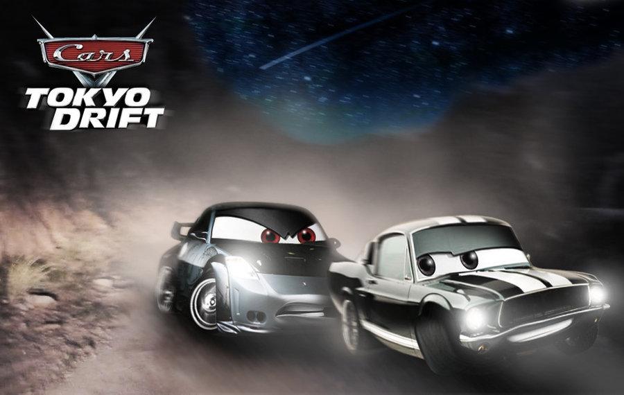 Image - Cars tokyo drift final race by tom91x-d4qq26c.jpg | Pixar ...