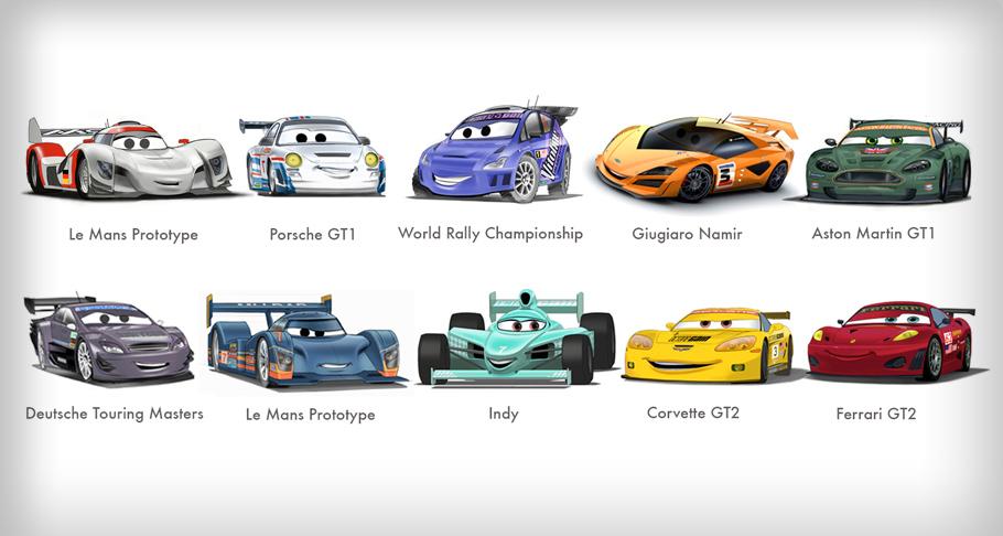 Image Racers Jpg Pixar Wiki Fandom Powered By Wikia