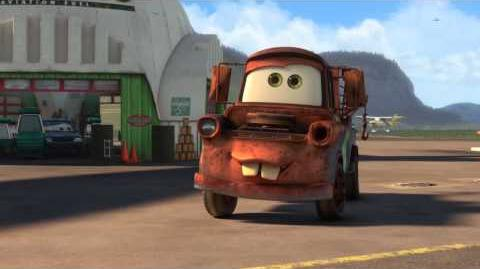 Cars 2 Air Mater (New Short Film) - Clip