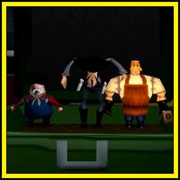 Prospector Showdown boss (Toy Story 2)