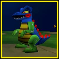 Toy Dinosaur boss (Toy Story 2)