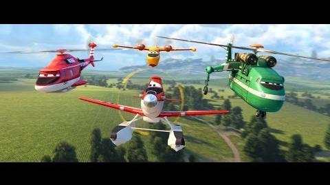 """Heroes"" Featurette - Planes Fire & Rescue-0"