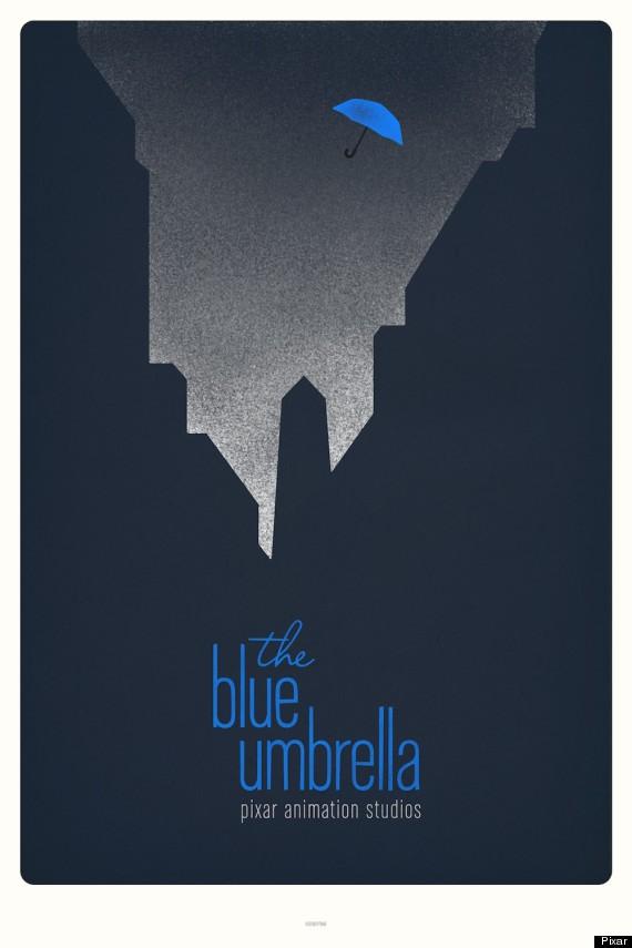 HP Blue Umbrella Poster City