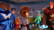 Incredibles 2 Super Team
