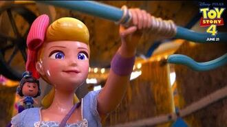 """""""Old Friends & New Faces- Bo Peep"""" TV Spot - Toy Story 4"""