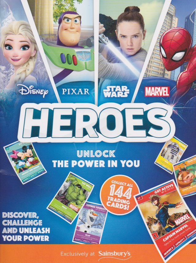 Number 63 ForkySainsbury/'s Disney Heroes 2019 Collector Card