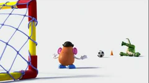 Commercial toy story 3 and wk soccer cup