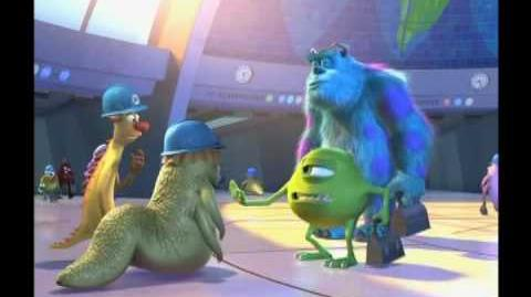 Pixar Monsters, Inc