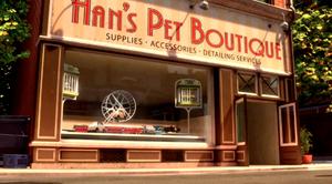 Hans' Pet Boutique