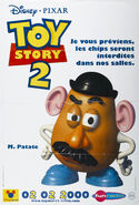 Toy Story 2 French Mr. Potato Head Poster