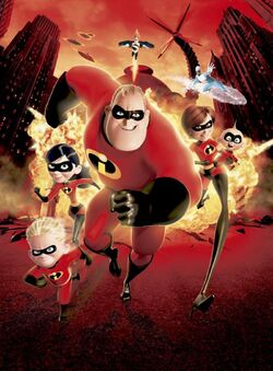 The Incredibles DVD