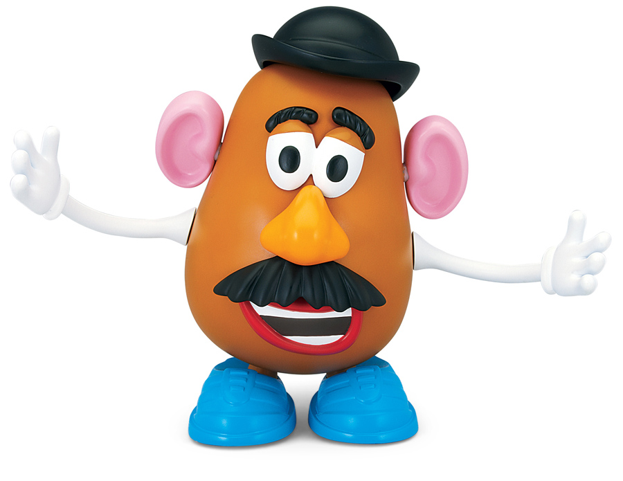 Animated Talking Mr Potato Head With Part Popping Action Toy Story