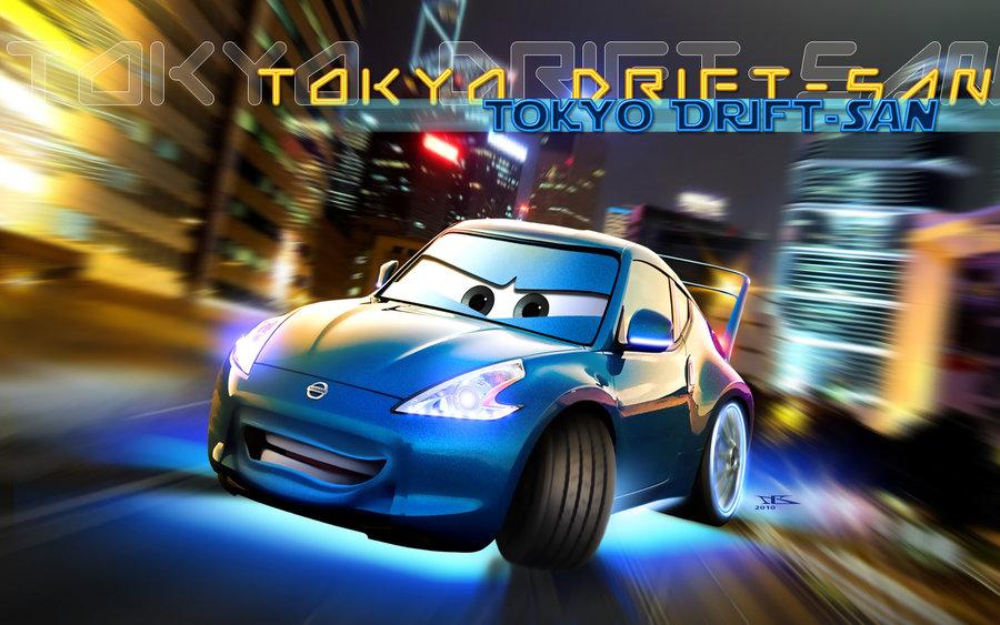 Image - Cars Tokyo Drift San by danyboz.jpg | Pixar Wiki | FANDOM ...