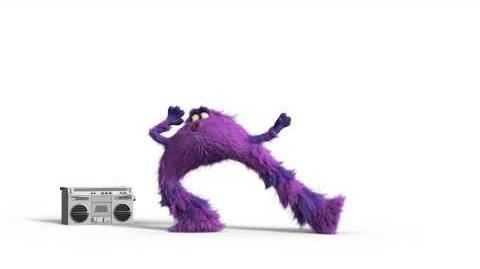 Monsters University - Breakdance