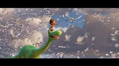 """""""Above The Clouds"""" Clip - The Good Dinosaur"""