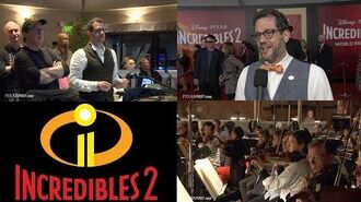 Incredibles 2 Scoring Session B-Roll & Michael Giacchino & Brad Bird Interview