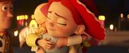 Bo and jessie hug