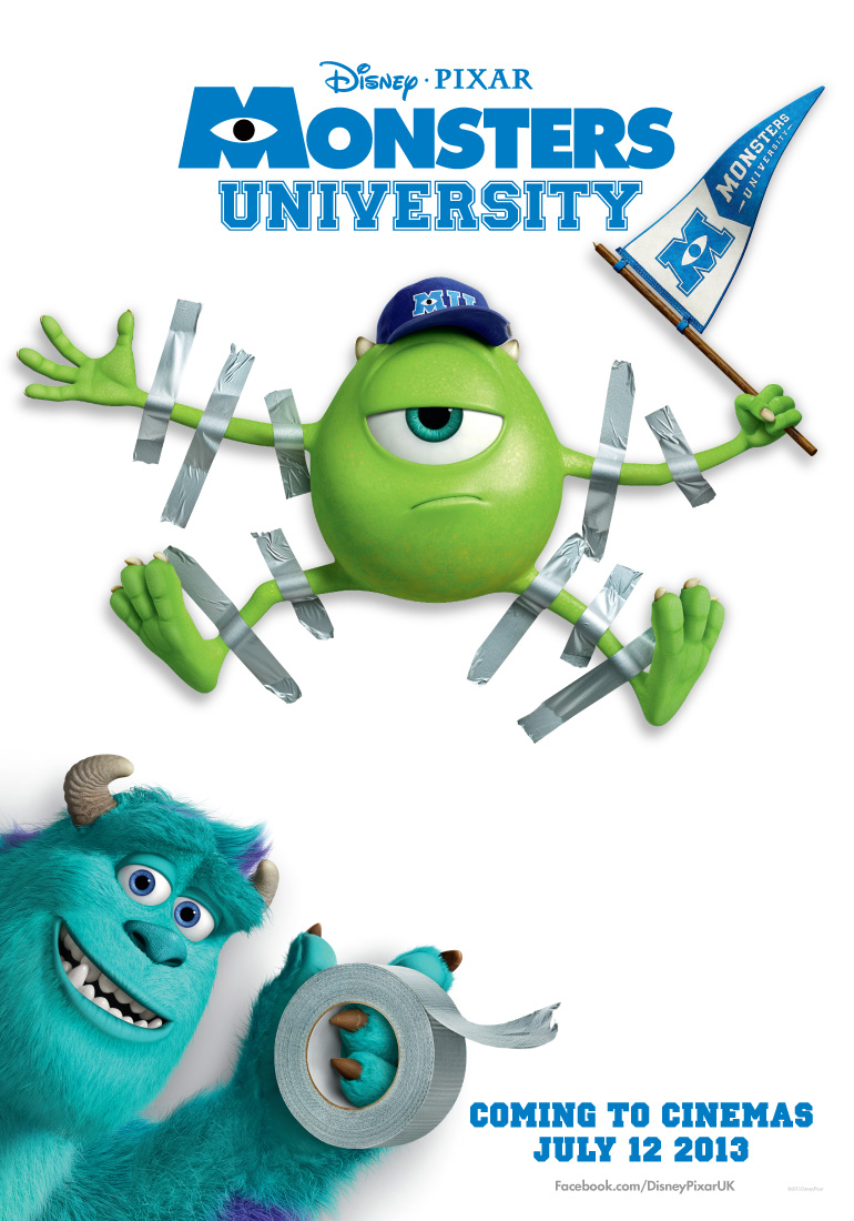 Image monsters university poster g pixar wiki fandom monsters university poster g voltagebd Gallery