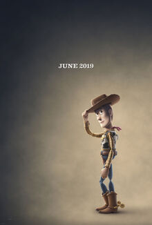 Toy Story 4 - Woody teaser poster-0