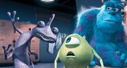 Mike, Sulley, and Randall