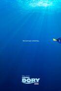 Finding Dory Teaser Poster