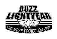 Buzz Lightyear-Universe Protection Unit (logo)