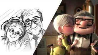 """Up """"Married Life"""" Pixar Side by Side"""
