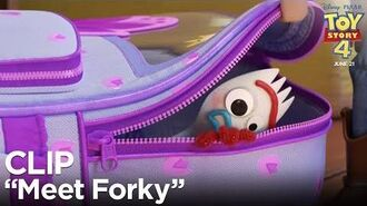"Toy Story ""Meet Forky"" Clip-2"