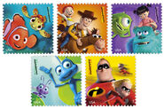 USPS-Mail A Smile Stamps-2012