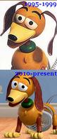 Toy story slinky 1995-1999 2010-present