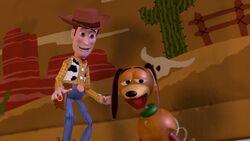 Woody and Slinky