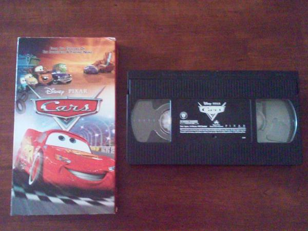 Walt disney pictures pixar animation studios cars vhs cars image walt disney pictures pixar animation studios cars vhs image sciox Gallery