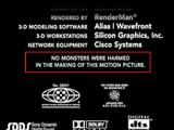 Monsters, Inc. Credits