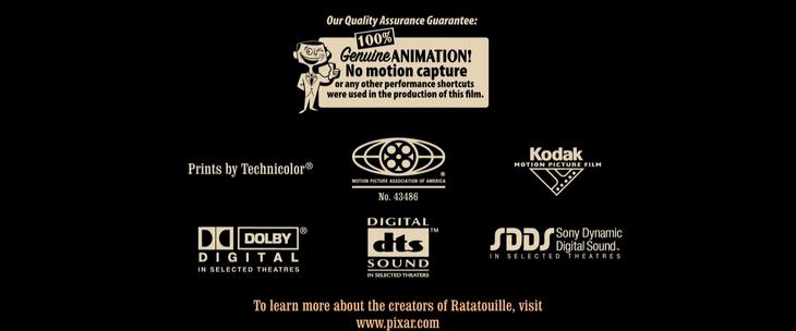 MPAA Ratatouille